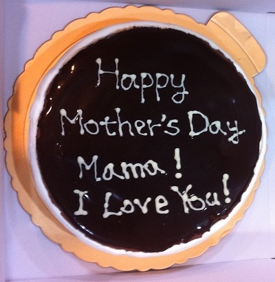 Chocolate Mousse Cake for Mom