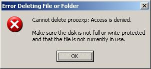 Error Deleting File